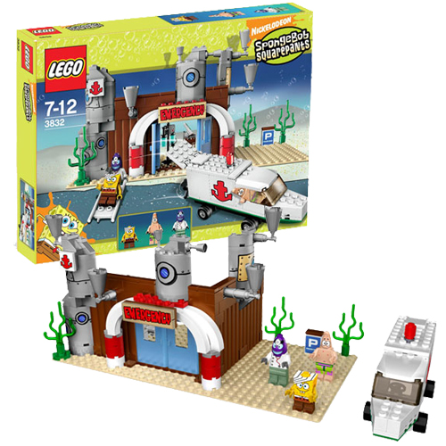 LEGO 3832 Spongebob Squarepants Emergency Room