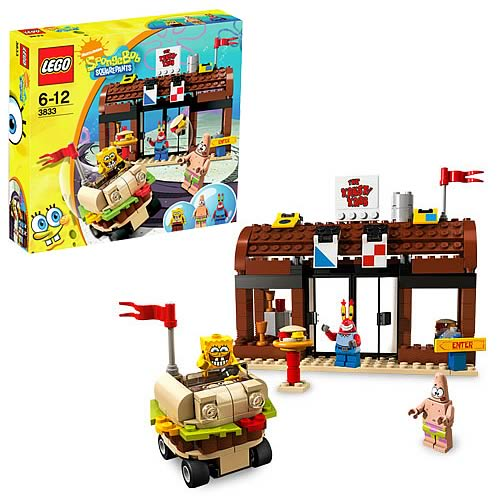 LEGO 3833 SpongeBob SquarePants Krusty Krab Adventures