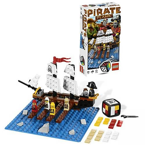 LEGO Games 3848 Pirate Plank Game