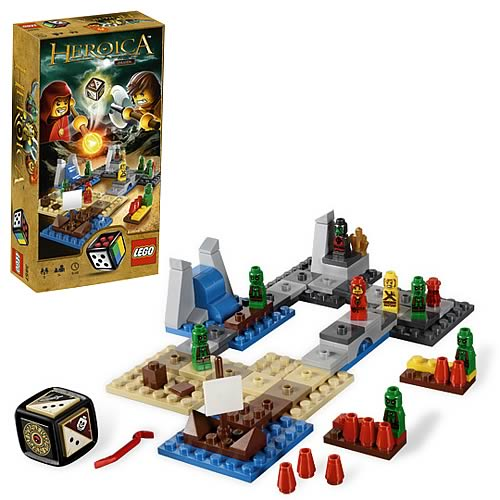 LEGO Games 3857 Heroica Draida Bay Game Case