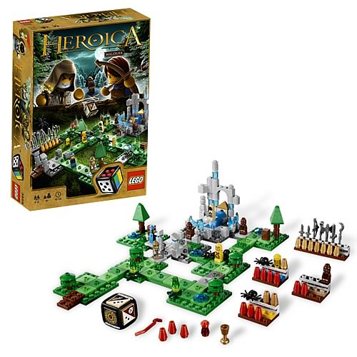 LEGO Games 3858 Heroica Waldurk Forest Game Case