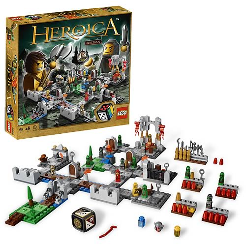 LEGO Games 3860 Heroica Castle Fortaan Game