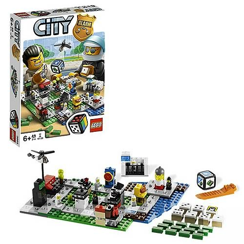 LEGO City Games 3865 City Alarm