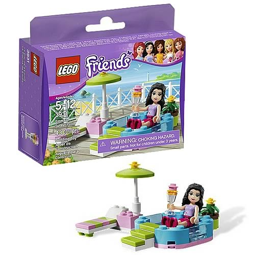 LEGO Friends 3931 Emma's Splash Pool