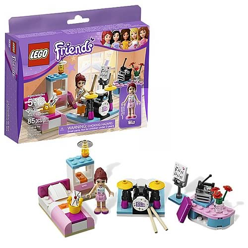 LEGO Friends 3939 Mia's Bedroom
