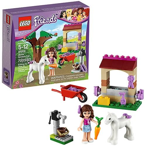 LEGO Friends 41003 Olivia's Newborn Foal