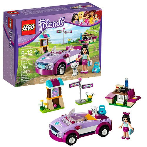 LEGO Friends 41013 Emma's Sports Car