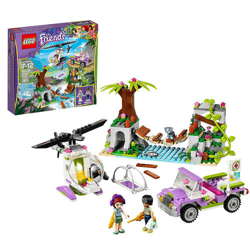 LEGO Friends 41036 Jungle Bridge Rescue