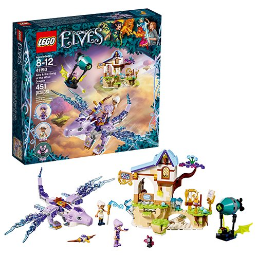 LEGO Elves 41193 Aira and the Song of the Wind Dragon