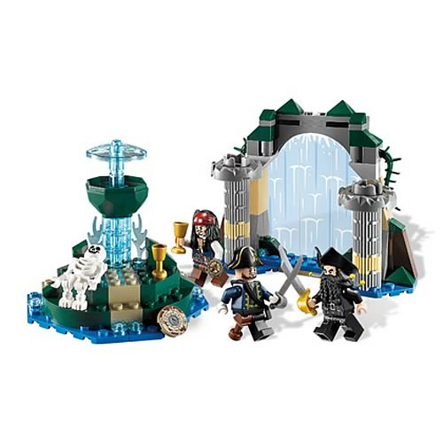 LEGO Pirates of the Caribbean 4192 Fountain Of Youth Case