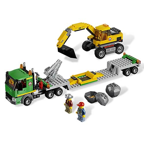 LEGO City Mining 4203 Excavator Transport