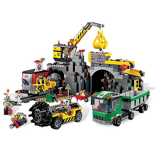 LEGO City Mining 4204 The Mine