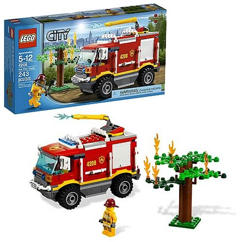 LEGO City 4208 4X4 Fire Truck