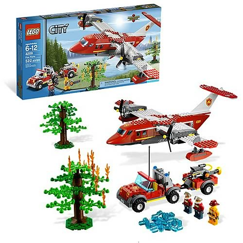LEGO City 4209 Fire Plane