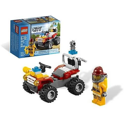 LEGO City 4427 Fire ATV