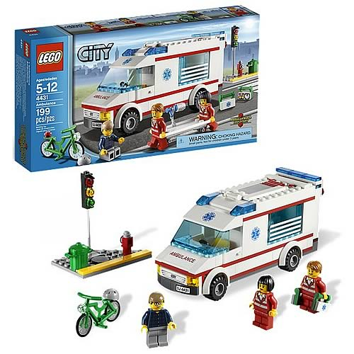 LEGO City 4431 Ambulance