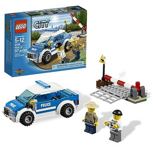 LEGO City 4436 Patrol Car