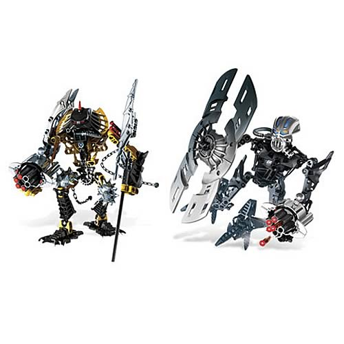 Bionicle Toa Hewkii and Nuparu Set