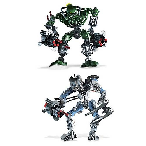 Bionicle Toa Kongu and Matoro Set