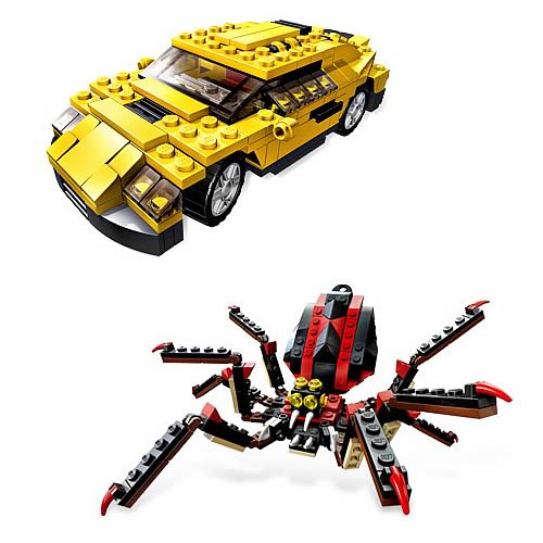 LEGO Cool Cars and Fierce Creatures Set