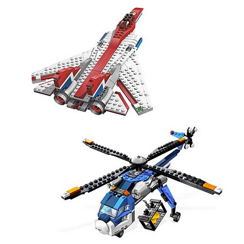 LEGO Fast Flyers and Cargo Copter Set