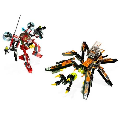 LEGO Exo-Force River Dragon and Battle Arachnoid Set
