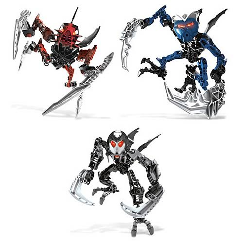 Bionicle Radiak, Gavla, and Kirop Set
