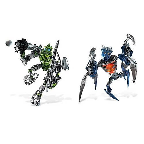 Bionicle Toa Lewa and Vamprah Set