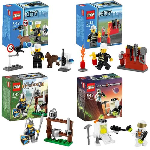 LEGO Mini Sets Spring 2008 Case