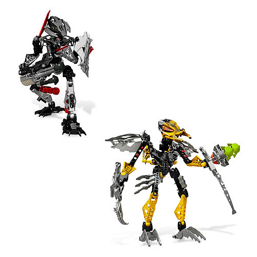 Bionicle Toa Onua and Bitil Set