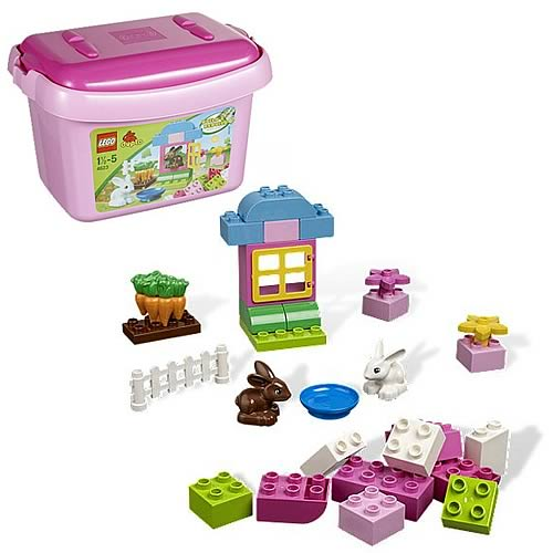 LEGO Duplo 4623 Duplo Pink Brick Box