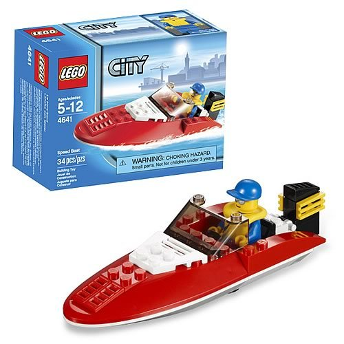 LEGO City 4641 Speed Boat