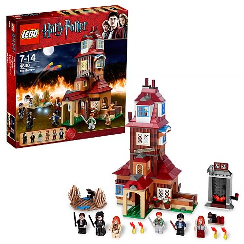 Burrow Harry Potter Lego Lego Harry Potter 4840 The