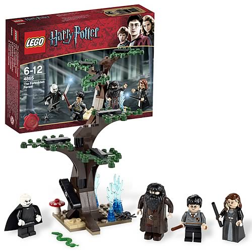 LEGO Harry Potter 4865 Harry Potter Forbidden Forest Case