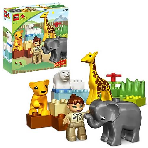 LEGO DUPLO 4962 Baby Zoo Case