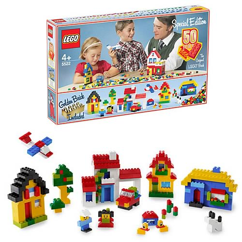 LEGO 5522 50th Anniversary Building Set