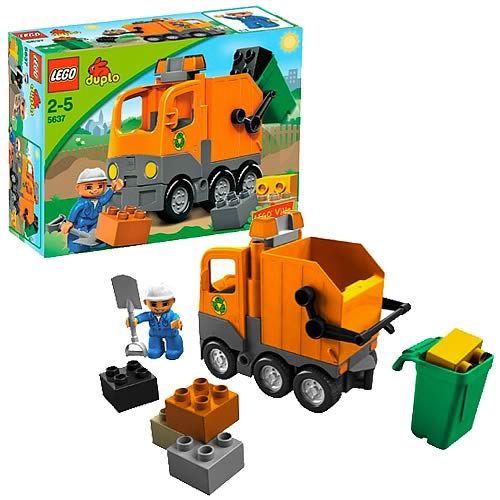 LEGO DUPLO 5637 Garbage Truck Construction Set