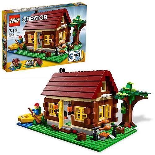 LEGO 5766 Log Cabin Case