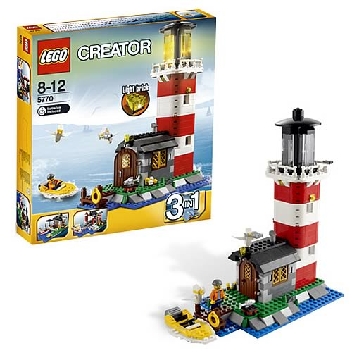 LEGO 5770 Lighthouse Island Case