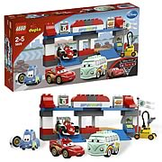 LEGO DUPLO Cars 5829 The Pit Stop Case