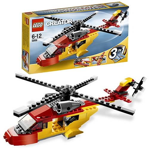 LEGO Creator 5866 Helicopter Rotor Rescue