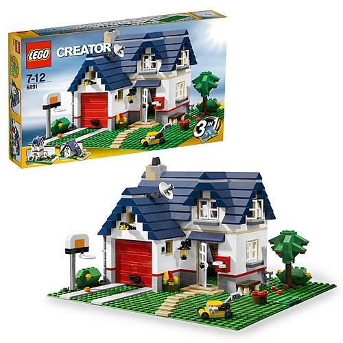 Lego creator 5891 apple tree house lego lego construction toys at enter - Lego construction maison ...