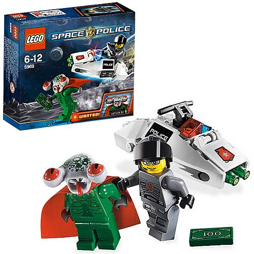 LEGO 5969 Space Police Squidmans Escape