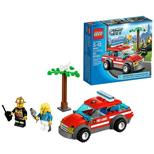 LEGO City 60001 Fire Chief Car