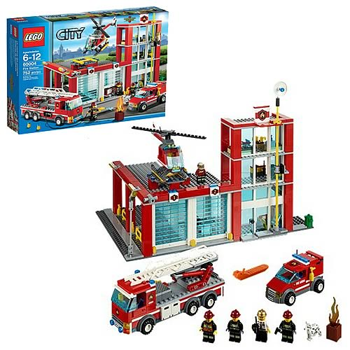 LEGO City 60004 Fire Station