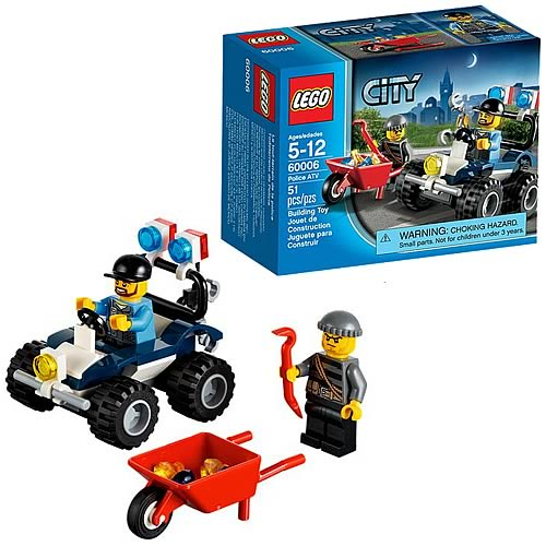 LEGO City 60006 Police ATV