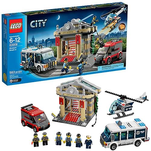 LEGO City 60008 Museum Break-In