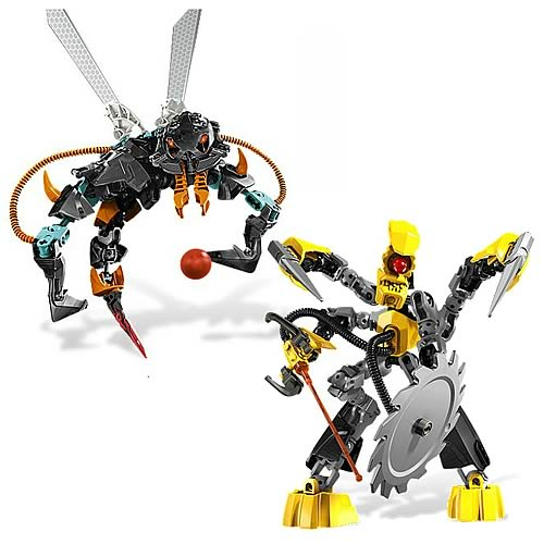 LEGO Hero Factory 6228 and 6229 Set