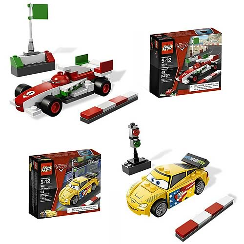 LEGO Cars Jeff and Francesco Set