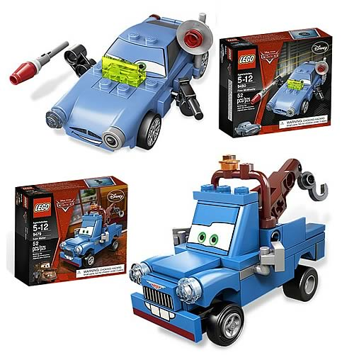 LEGO Cars Ivan Mater and Finn McMissile Case
